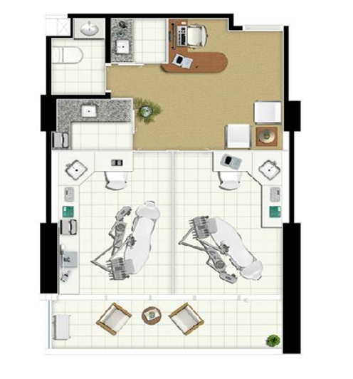Terreno: 6.530,61m² Área Privativa: 21.981,66m² Pavimentos: 39 Andares Tipo: 22 Andares Duplex: 5 Salas por andar: até 16 salas Total de Salas: 384 Lojas: 14 Subsolos: 4 Elevadores: 10 Vagas: 601 Opções de salas: Salas de 44 a 970m² Tipo 1: 50,97m² - 68 salas Tipo 2: 45,08m² - 34 salas Tipo 3: 45,55m² - 200 salas Tipo 4: 44,61m² - 10 salas Tipo 5: 99,61m² - 20 salas Tipo 6: 110,49m² - 4 salas Duplex 1: 66,88m² - 30 salas Duplex 2: 67,12m² - 10 salas Duplex 3: 144,75m² - 8 salas
