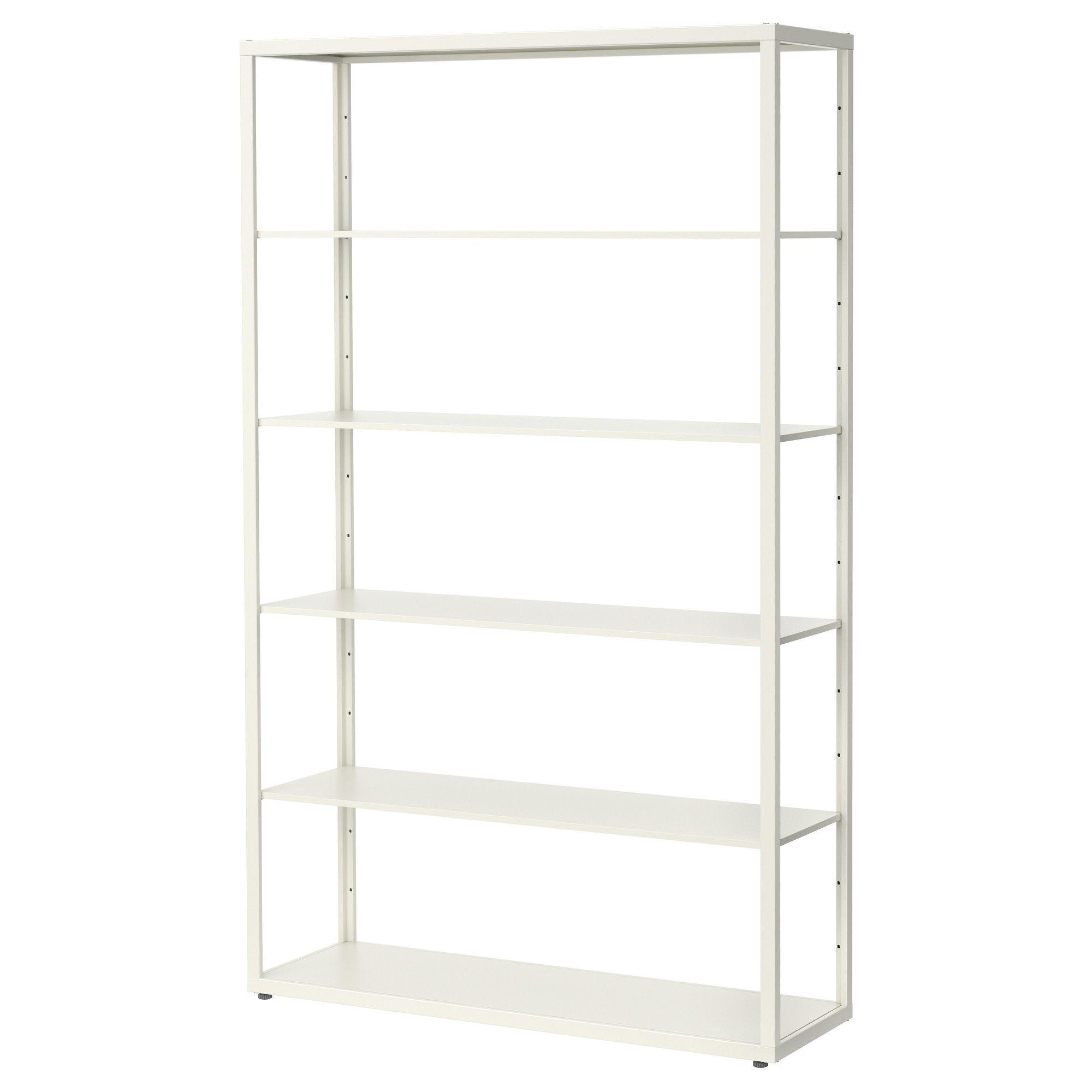 Simple Clean Shelving Fjalkinge Shelf Unit Ikea Ikea Shelving