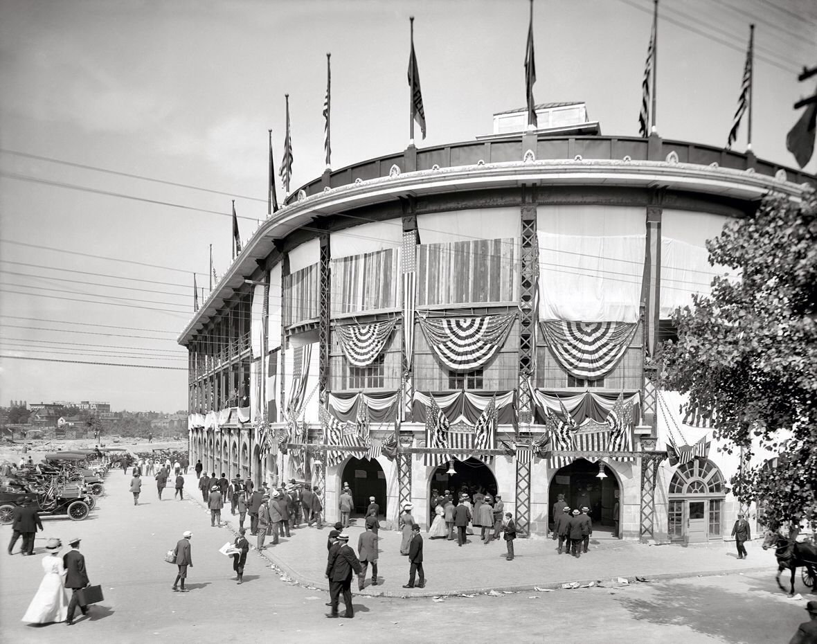 Old Forbes Field 1917