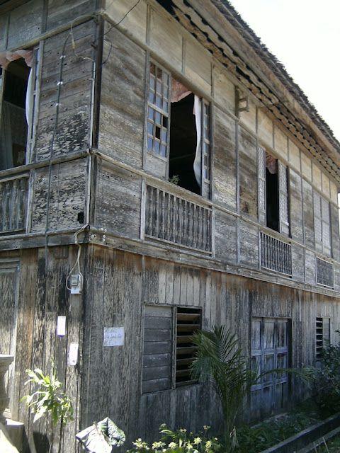 Old Antique House In Argao Cebu City Philippines In