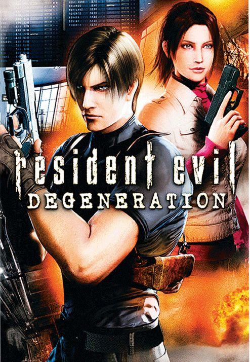 Resident Evil Degeneration Resident evil, Animated