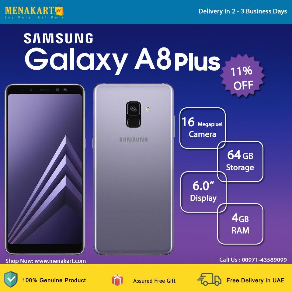 Samsung Galaxy A8 Plus 2018 A730fd 4g Dual Sim 64gb Orchid Gray Samsung Dual Sim Samsung Galaxy
