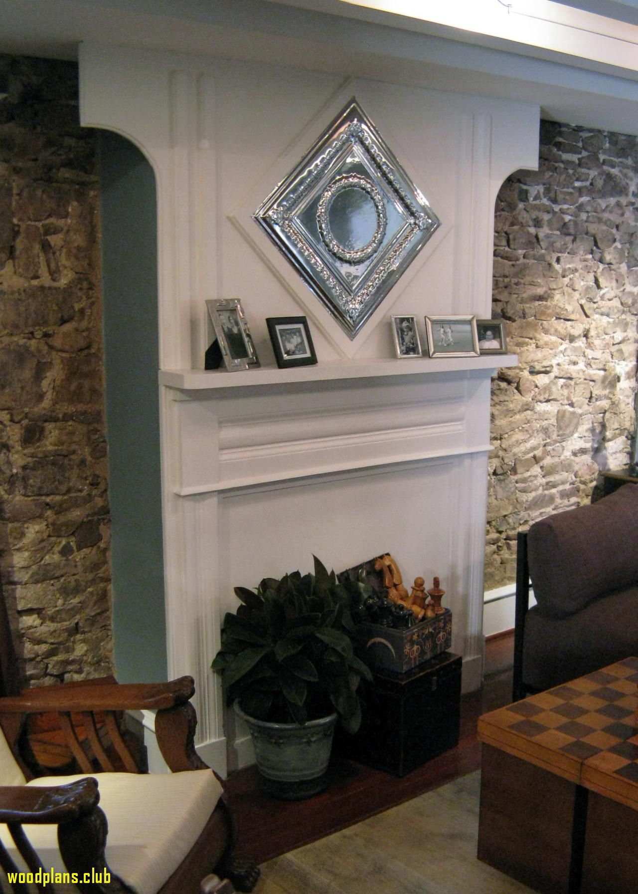 50 Fireplace Mantel Woodworking Plans Cool Furniture Ideas Check