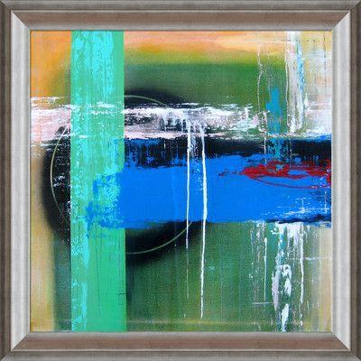 Tori Home Artisbe Niebieski Horyzont by Elwira Pioro Framed Painting Print