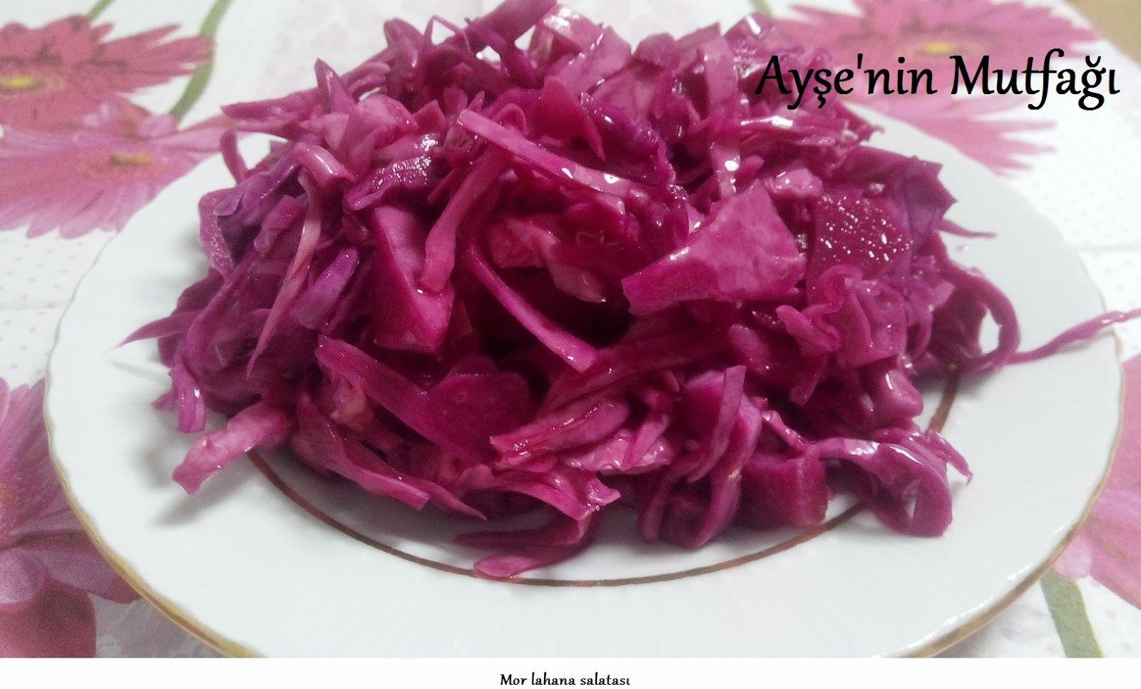 Kırmızı lahana yemek tarifleri