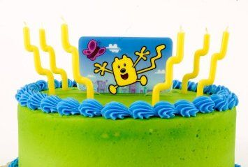 Amazon.com: Wow! Wow! Wubbzy! Candle Decorator Set (7 count): Toys & Games