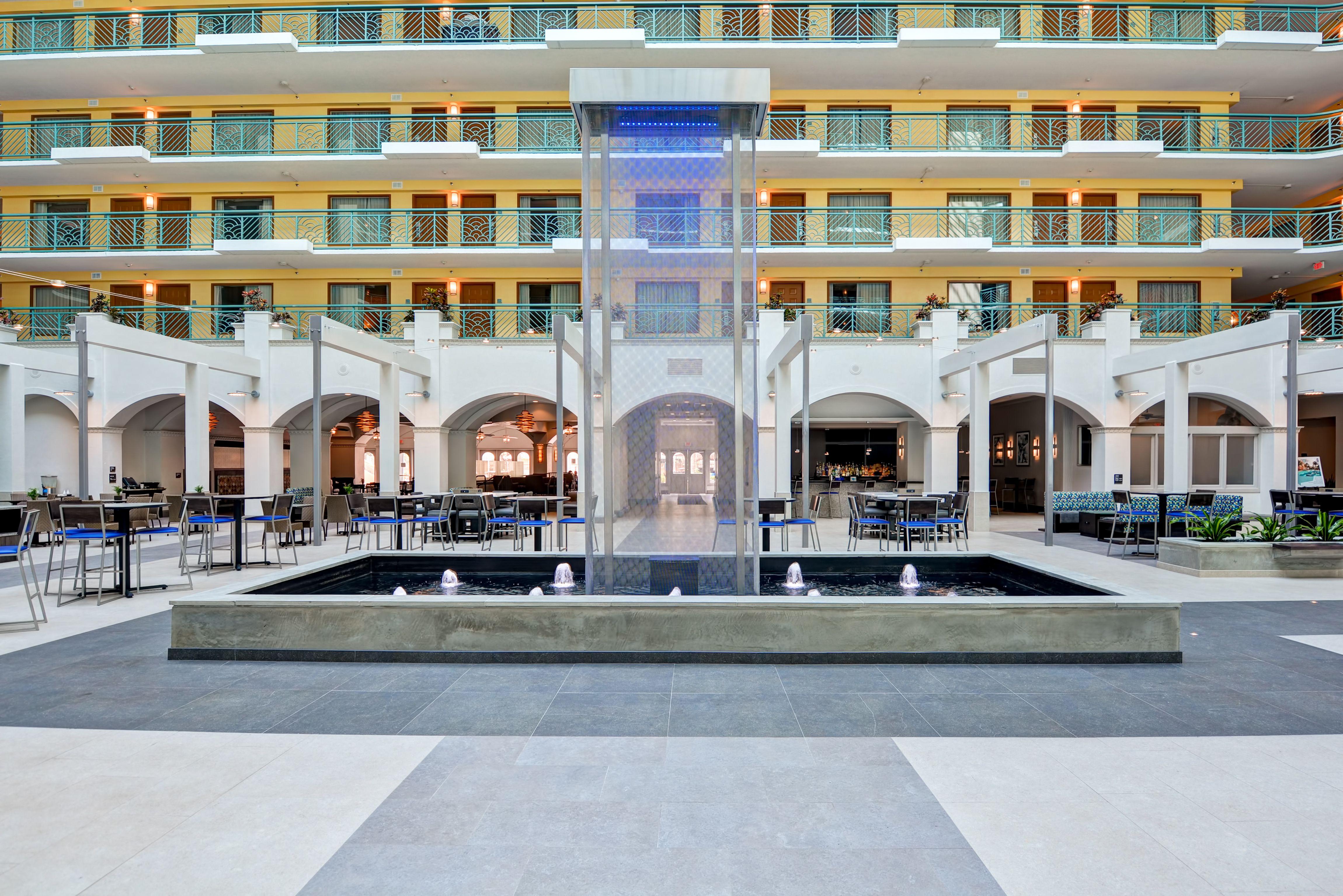 Our Open Atrium Embassy Suites Hotel Florida Hotels
