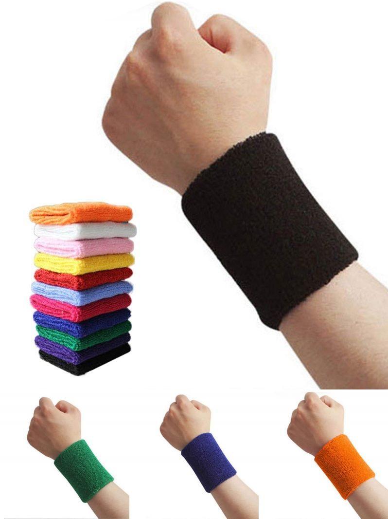 Visit to Buy] Muntilfunctional Cotton Mix AOLIKES Sweet WristBand Sports  Gym Sweatband Fitness Run #Advertisem… | Workout accessories, Wrist  support, Sports safety