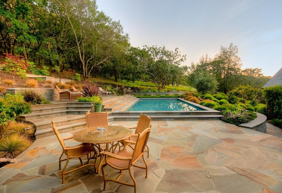 dazzling wicker chaise lounge in pool contemporary with pool