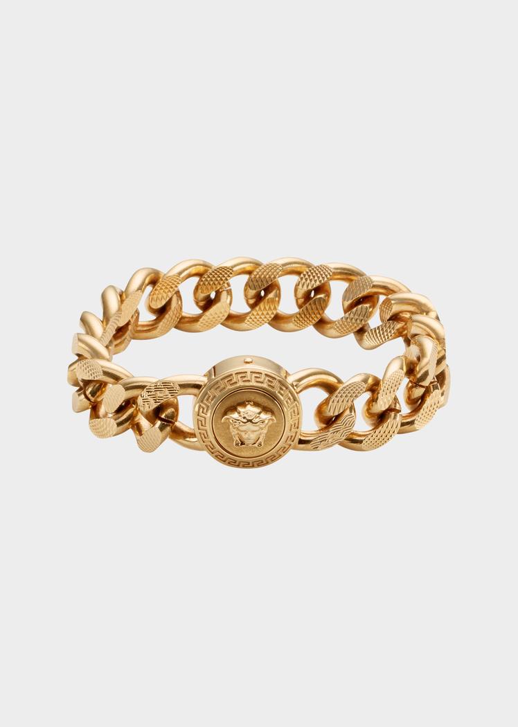 b6829b01c44f Versace Medusa Chain Bracelet