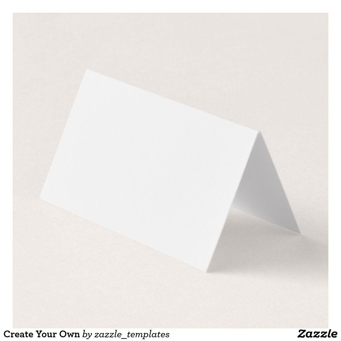 Custom horizontal tent fold folded business card folded business custom horizontal tent fold folded business card colourmoves