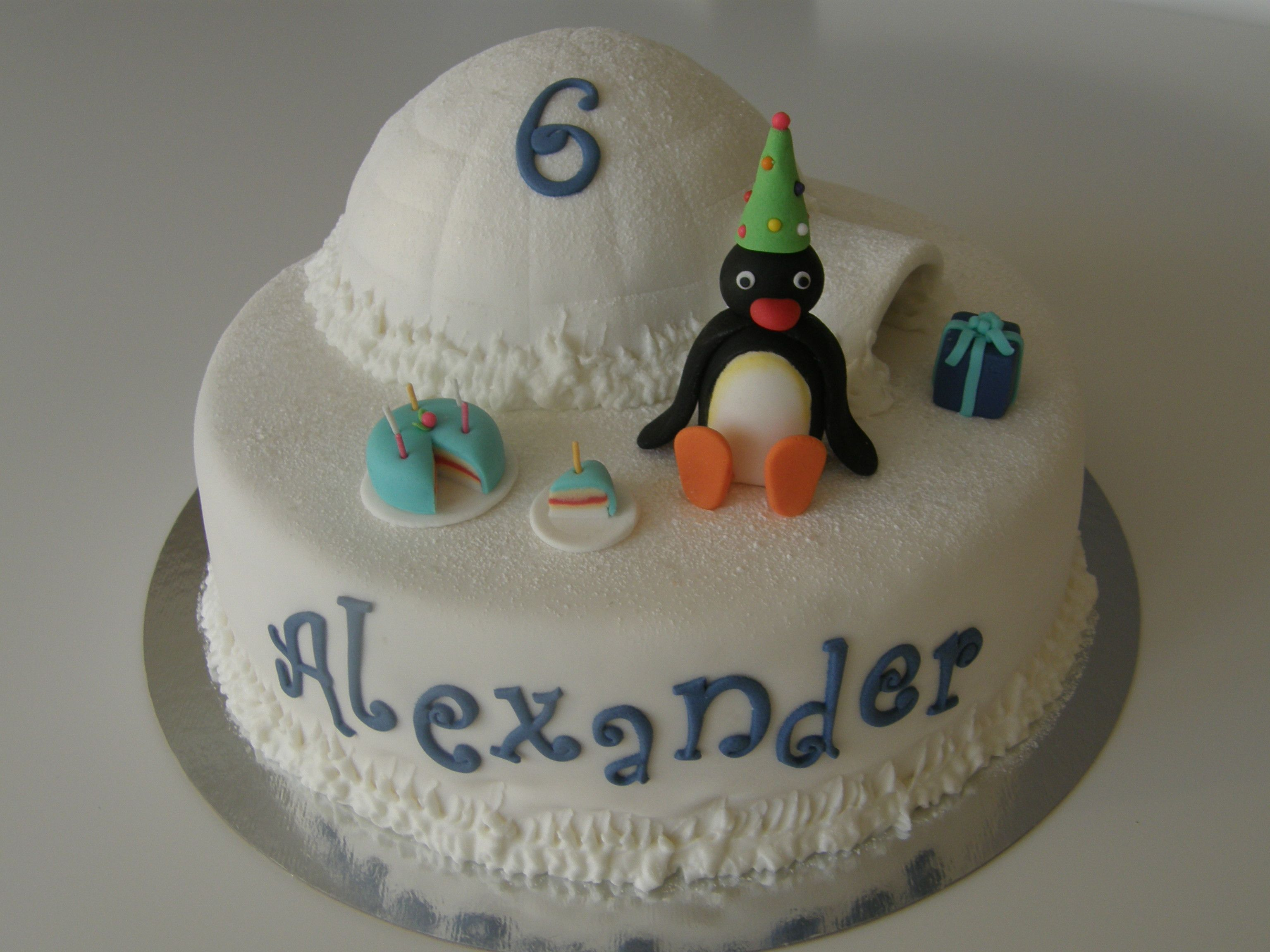 Pingu Cake Pingu And His Igloo Torte Pingu Cake