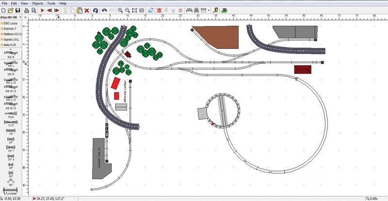atlas layout software trains pinterest software and layouts rh pinterest com Atlas HO Layouts Atlas O Gauge Track Layout