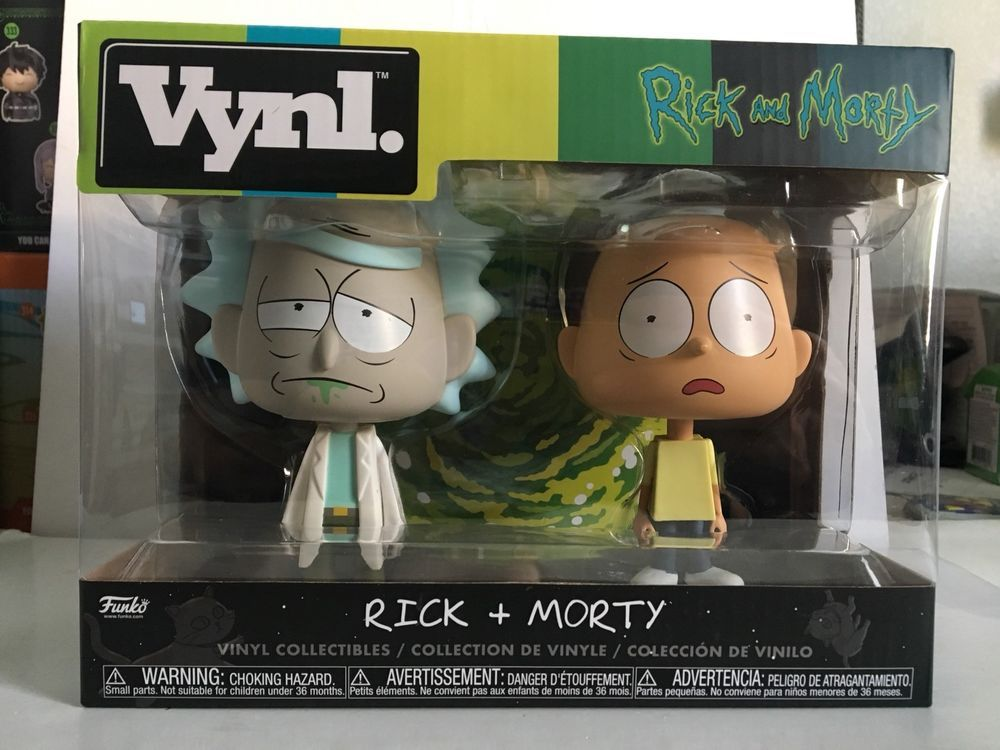 Rick and Morty Vynl Rick Morty Vinyl Figure 2-Pack Funko