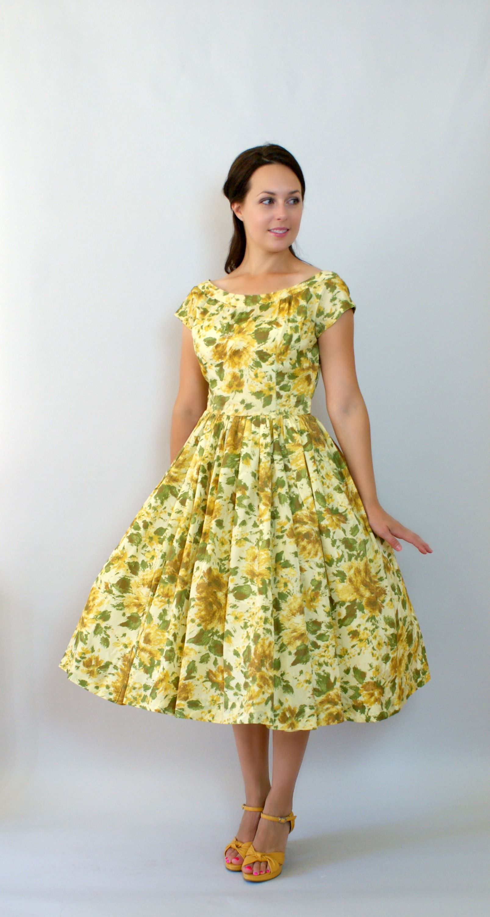 1950s Party Prom Formal Dress from Sweet Bee Finds