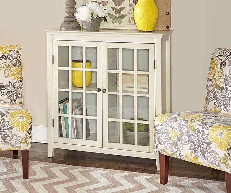 Surprising Lacey Gray Yellow Floral Armless Accent Chair In 2019 Squirreltailoven Fun Painted Chair Ideas Images Squirreltailovenorg