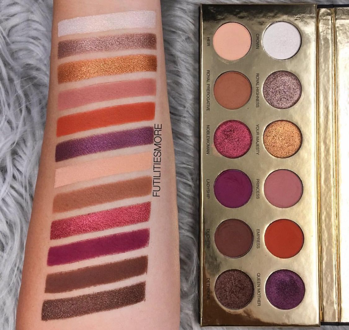 Queen Of Hearts Eyeshadow Palette by Coloured Raine #17