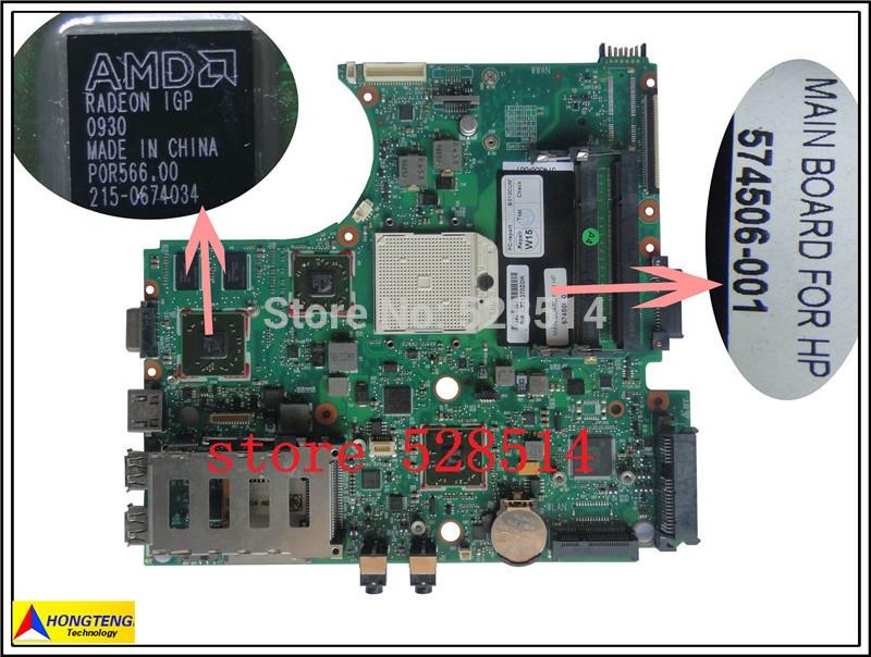 89.97$  Watch more here  - original laptop motherboard for HP ProBook 4515s 4416s Series 574506-001  100% Test ok