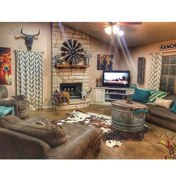 Https Www Pinterest Com Pin 516084438543044092 Western Living Room Decor Farm House Living Room Western Home Decor