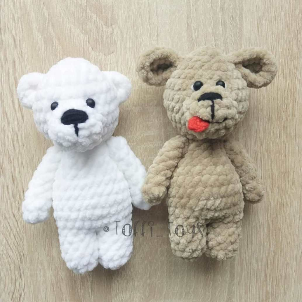 Teddy bear toys images  Crochet plush toys bear and dog  Amigurumi  Pinterest  Plush