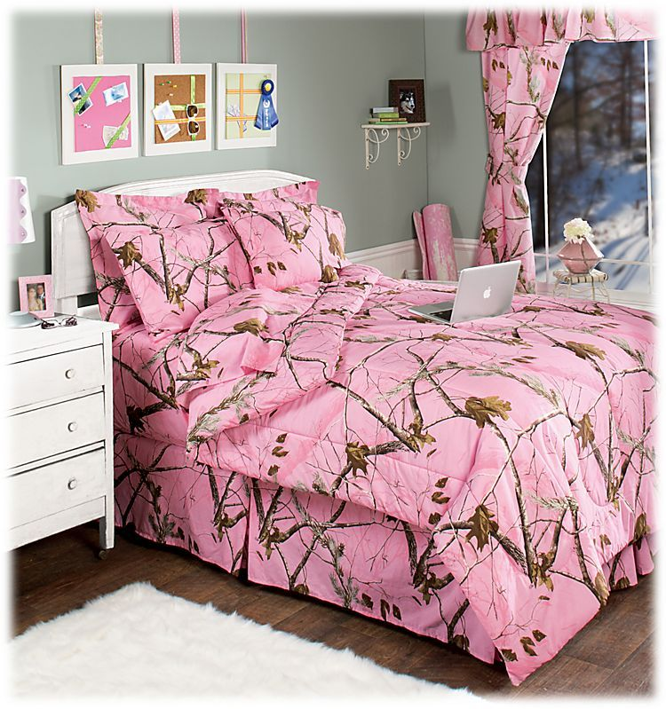 Bass Pro Shops Realtree APC Pink Bedding Collection Bass