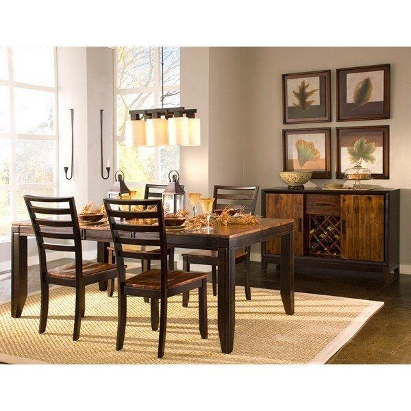 5 Piece Dinette  For The Home  Pinterest  Aspen Acacia Wood Unique Aspen Home Dining Room Furniture Inspiration