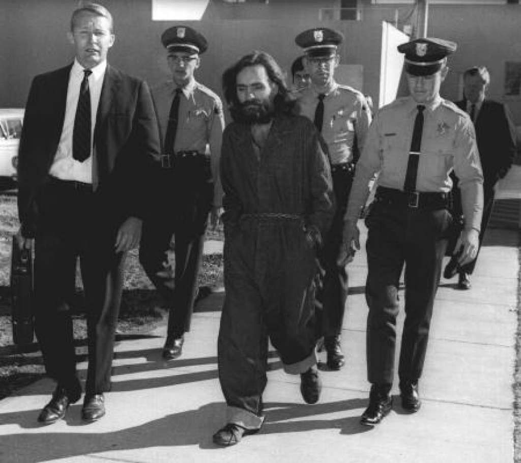 Reporter asks Charles Manson for his election thoughts, gets a ...