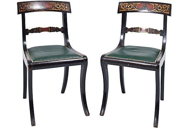 Regency Painted Chairs, Pair on OneKingsLane.com