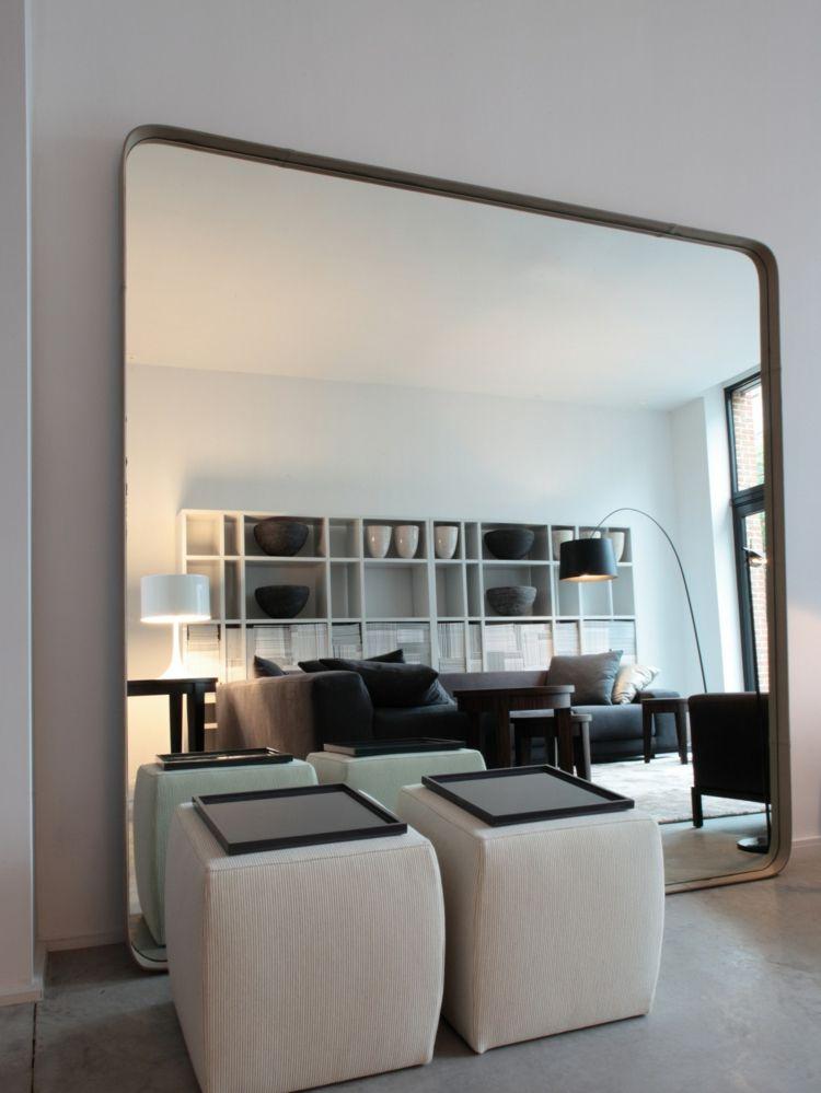Spiegel im Wohnzimmer – Modelle und schöne Ideen für die Einrichtung ...