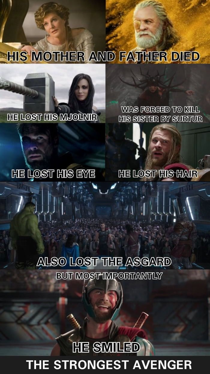 YOU AND ME GOT A WHOLE LOT OF HISTORY Strongest avenger