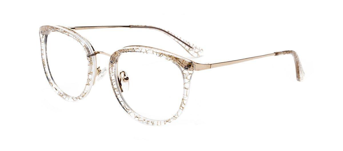 a5feb6a970d5 Affordable Fashion Glasses Square Round Eyeglasses Women Amaze Champagne  Tilt
