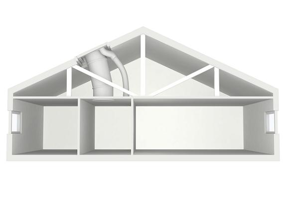 Tunnel solare VELUX - soluzioni per tetti a falda e tetti piani
