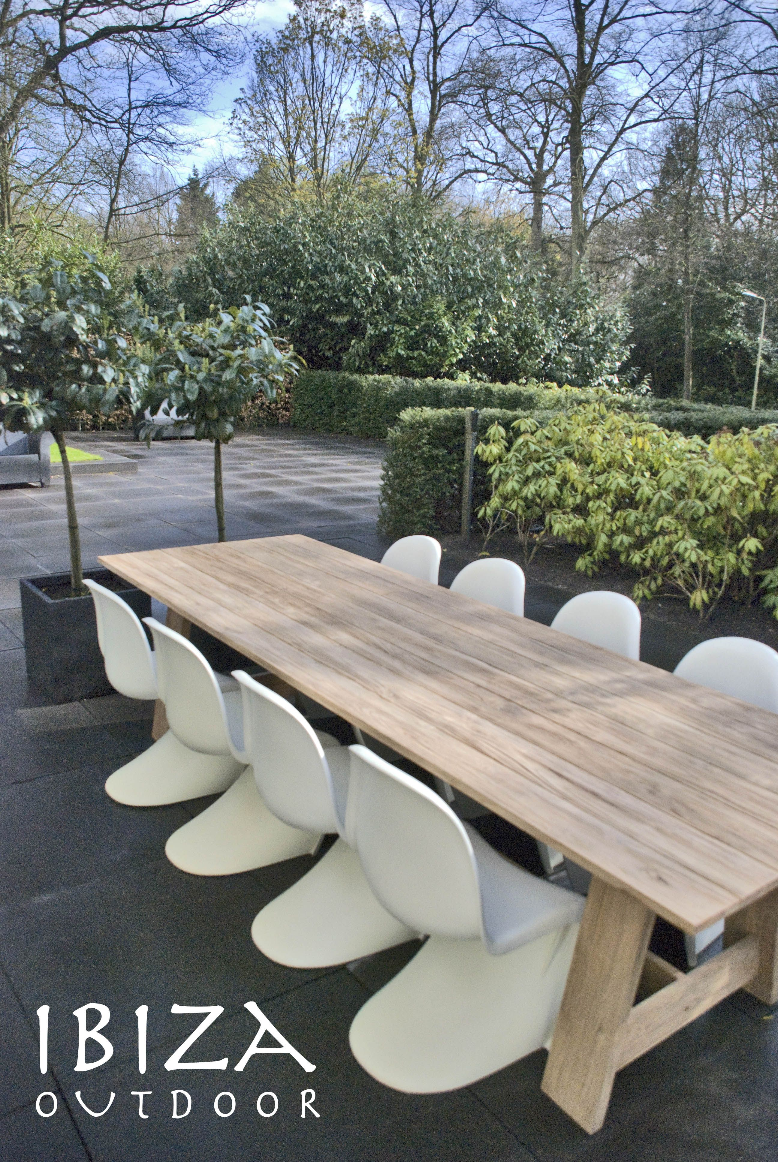 1194 900 Euro 300x100 Grove Teaktafel Our New Ibiza Outdoor Rustic Teak Tables Have Arrived Have Different Size Teak Table Outdoor Teak Outdoor Teak Table