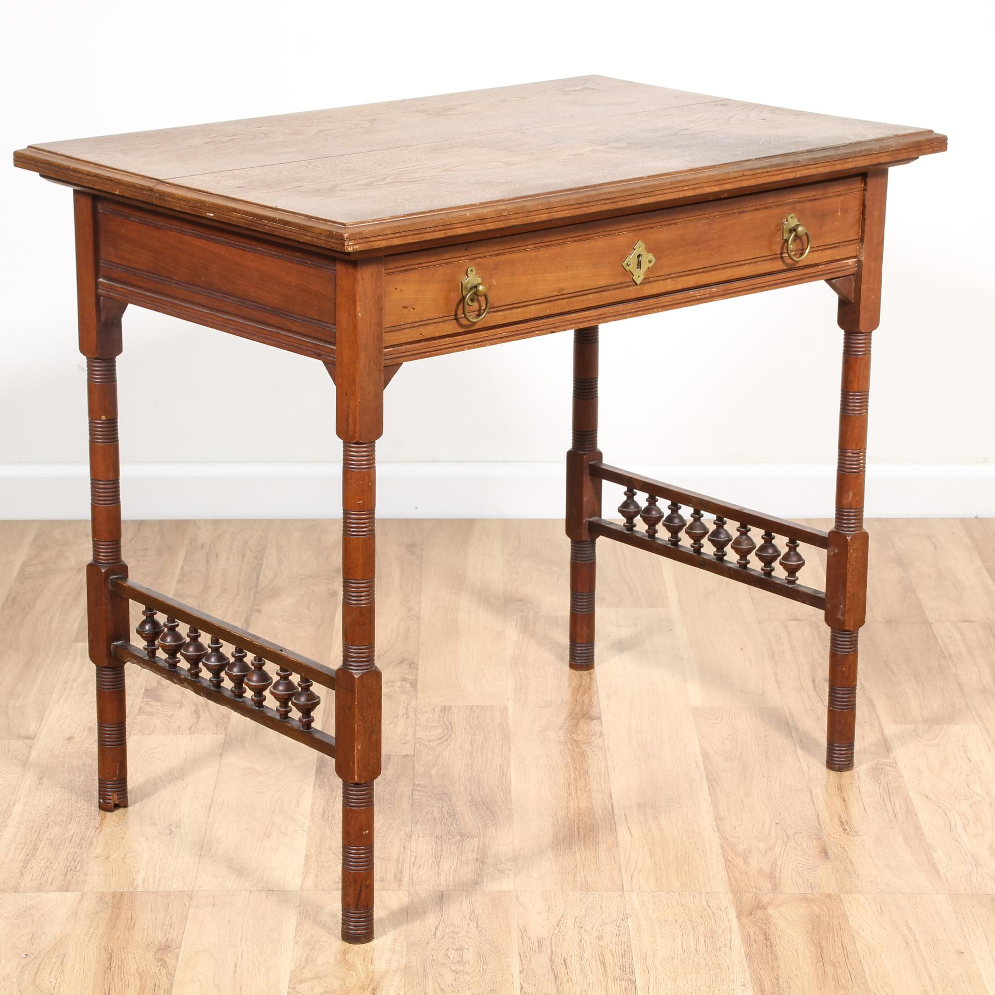 This Early Colonial Style Desk Is Featured In A Solid Wood With A Rustic Cherry Finish This Writing Desk Is Writing Table Desk Writing Table Small Workstation