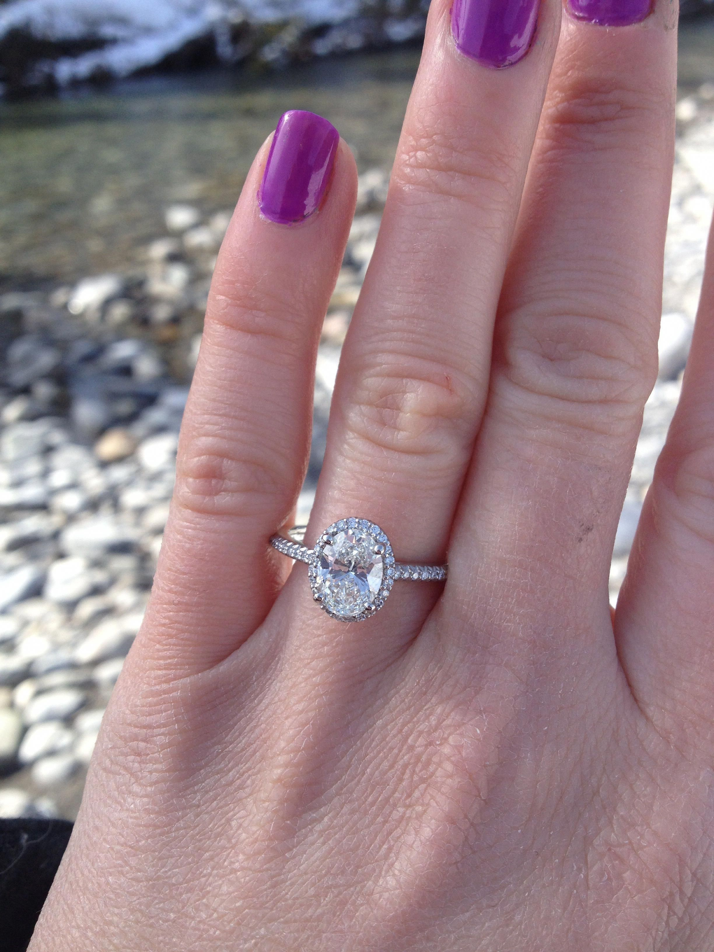 size 5.25 finger. It is a 1.40 carat center stone with 0