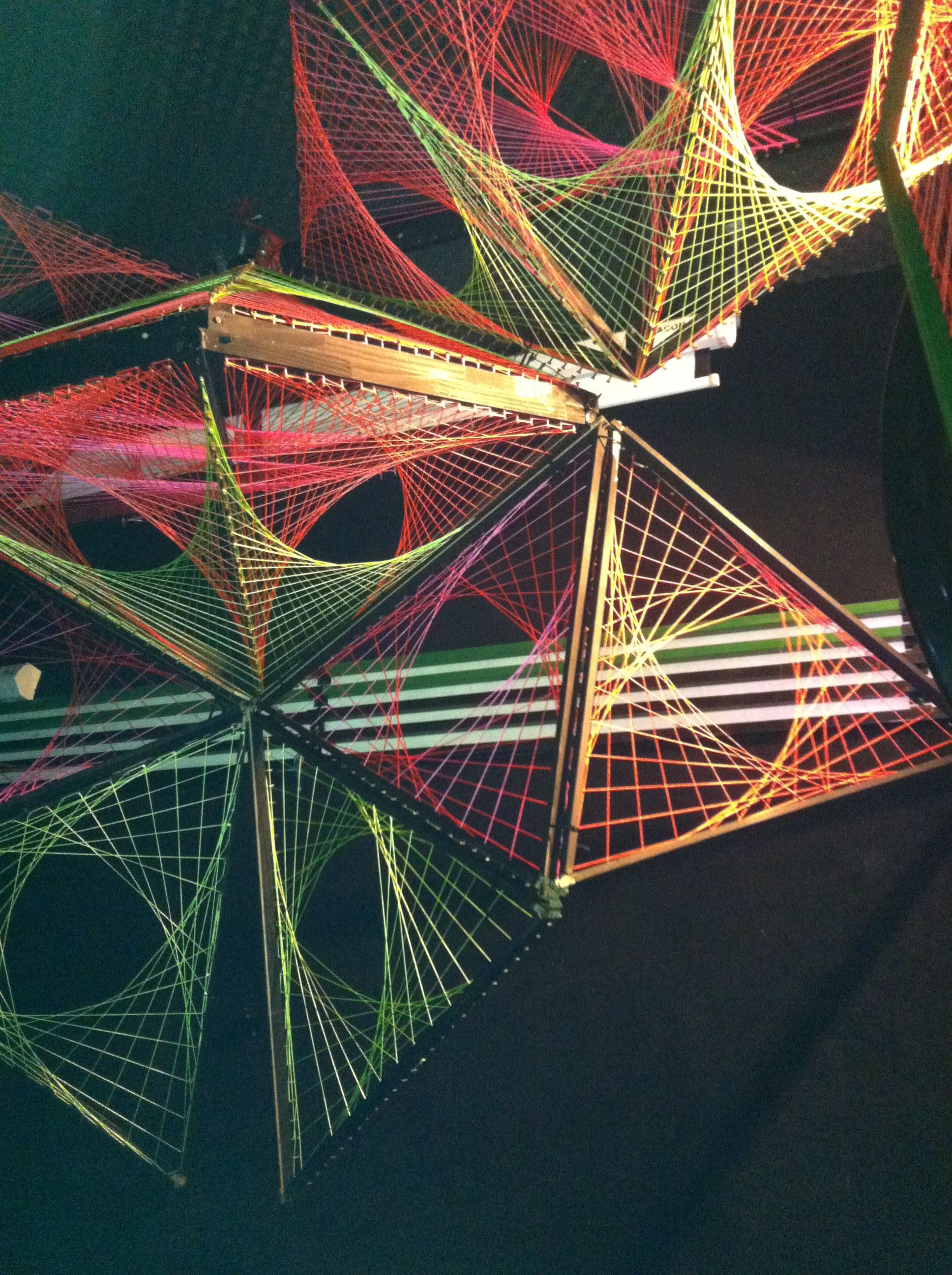 Amazing 3D String Art Designs For Trance Party Last June
