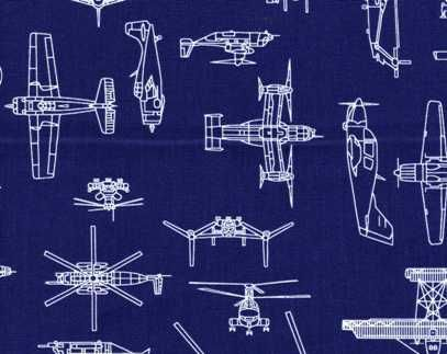 Airplane Blueprints Fabric | Airplane fabric, Baby fabric