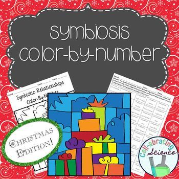 Symbiosis Color By Number **Christmas Edition Holiday
