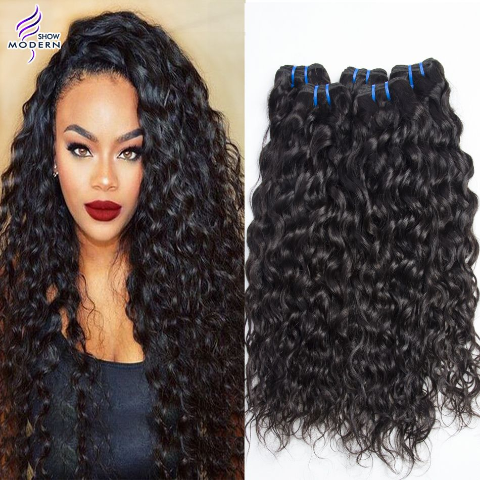 mink ali moda brazilian virgin hair water wave unprocessed wet and