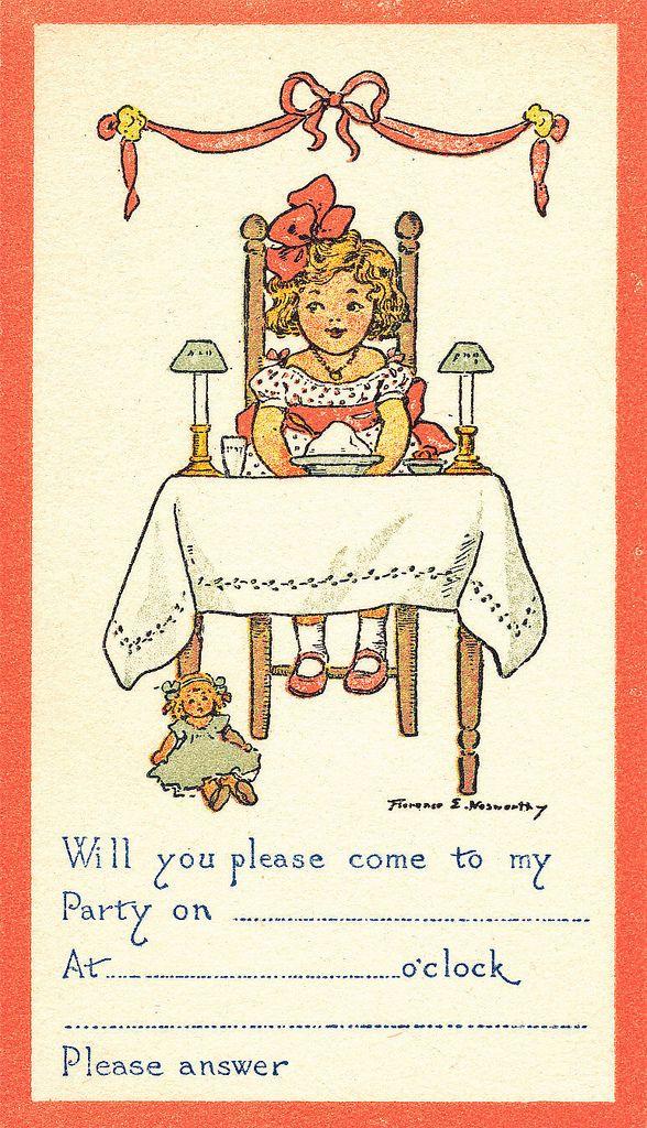 Vintage party invitation | vintage Party, Illustrators and Illustrators