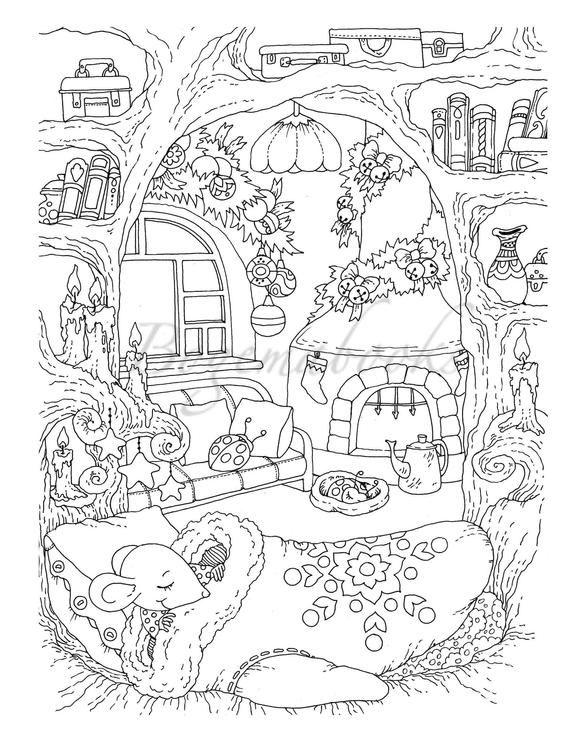 Welcome To Tatiana Bogema's Coloring World: 50 Adult Digital Coloring Pages from Tatiana Bogema (Stolova) books