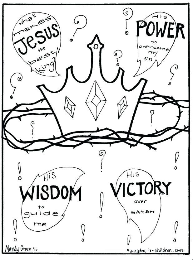 King Saul Coloring Page Pin Wisdom King Jesus Coloring Pages