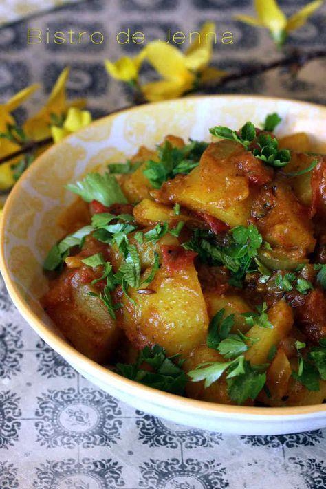 Aloo bombay pommes de terres l 39 indienne cuisine indienne cuisine indienne pomme de terre - Recette cuisine ayurvedique ...