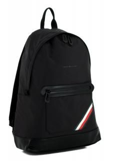 6c1a3e2747bf4 Herrenrucksack Tommy Hilfiger Easy Nylon Backpack schwarz Black - Bags    more