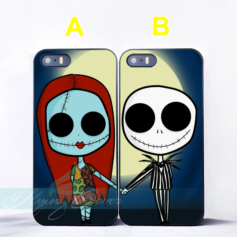 Jack and Sally Best Friend Lovers Couple Case for iPhone 7 6S 6 5S ...