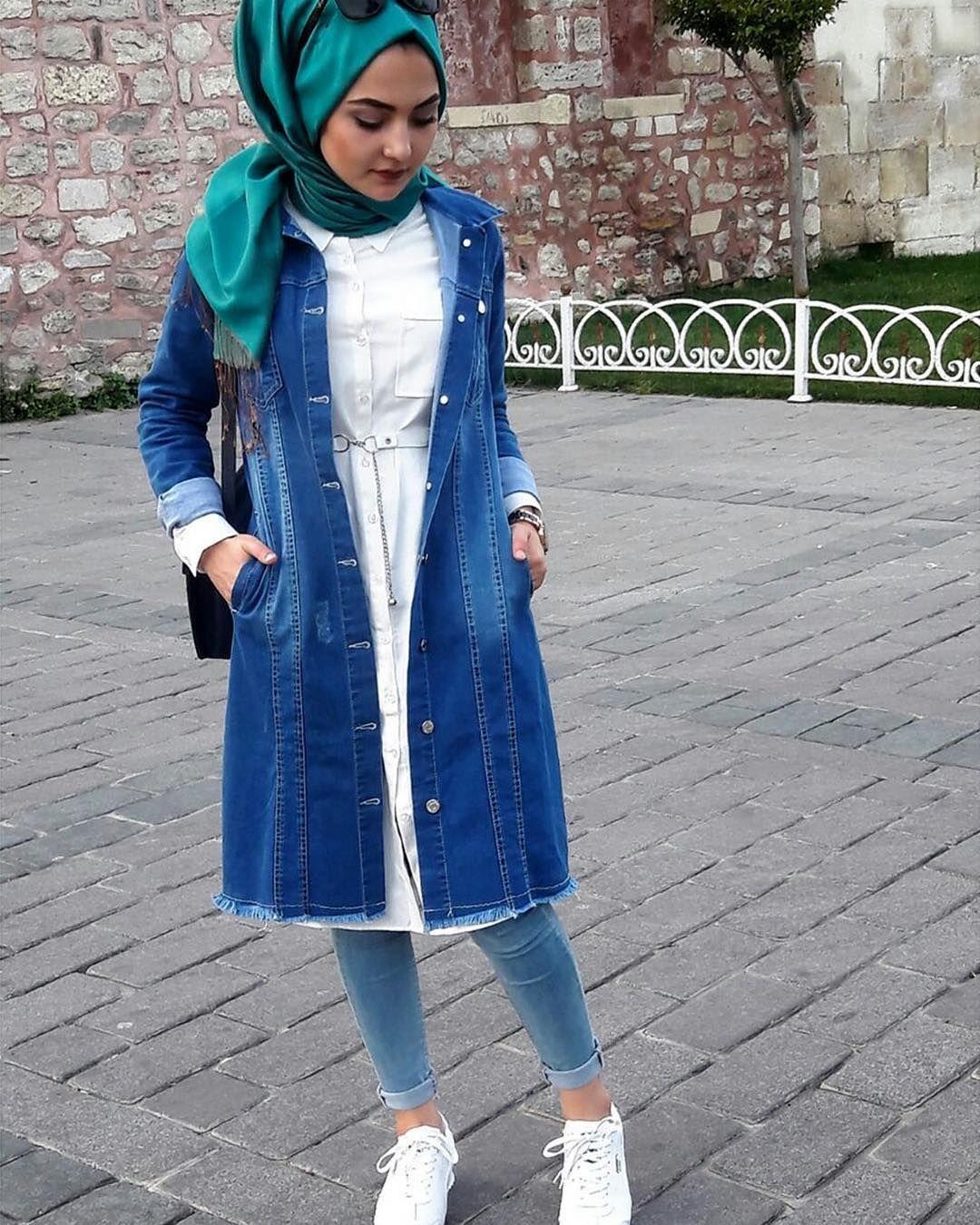 En Sik Tesettur Uzun Kot Ceket Modelleri Moda Tesettur Giyim Kot Ceket Moda Kotlar