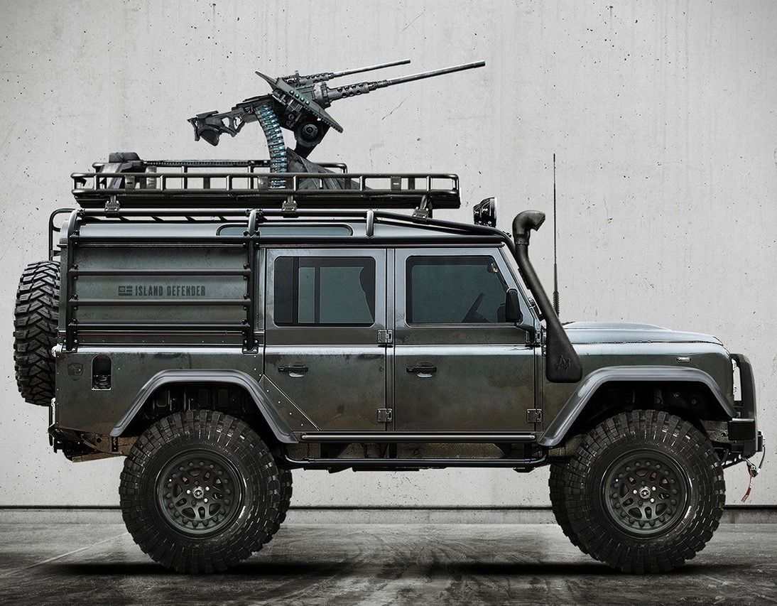Utwo Land Rover Defender Island Defender Land Rover