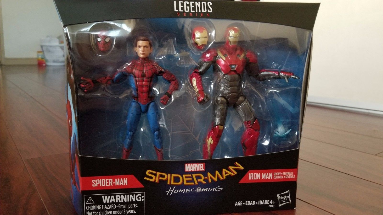 Marvel Legends Homecoming Spider-Man And Iron Man TRU Exclusive 2 Pack In Stock