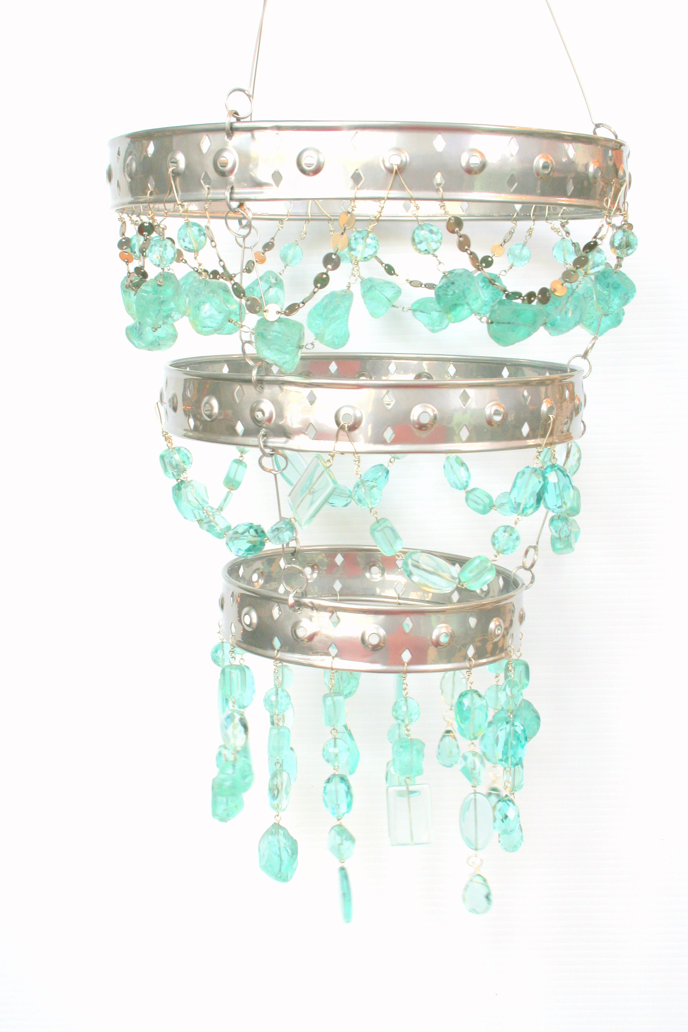 aqua Chandelier handmade love loveit sugar isber