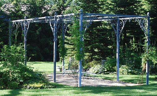 The Branch Studio Parisian Pergola | Detroit Garden Works - The Branch Studio Parisian Pergola Detroit Garden Works Outdoor